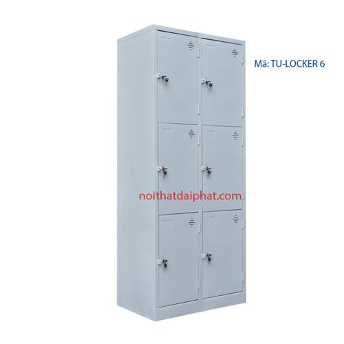 tủ locker 6 ô