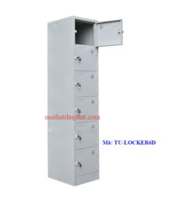 Tủ locker 6 cánh