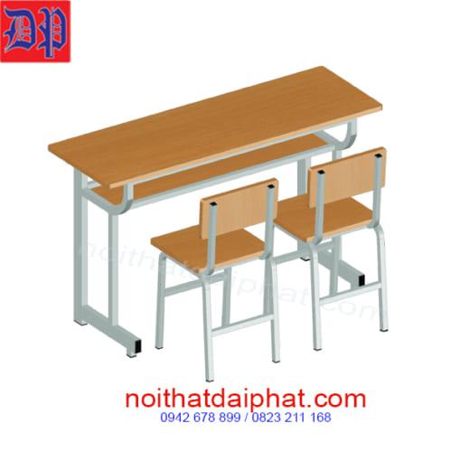 bàn ghế học sinh 2 ghế rời