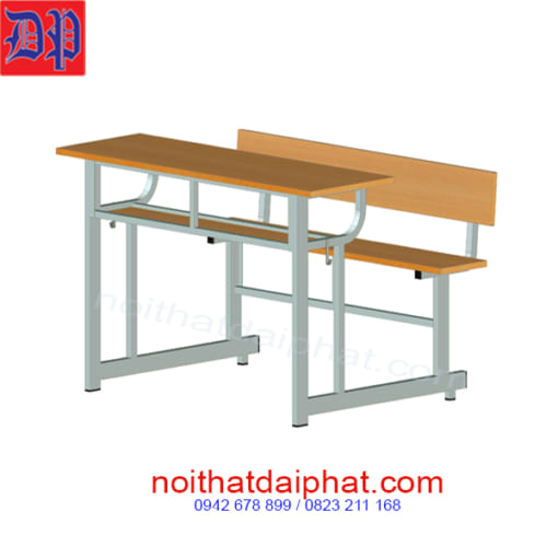 bàn ghế học sinh liền có tựa